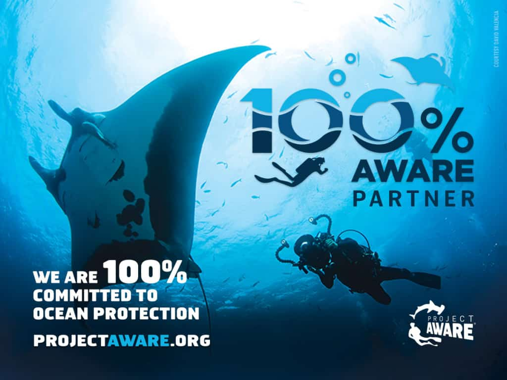 100% AWARE Partner - Ceningan Divers