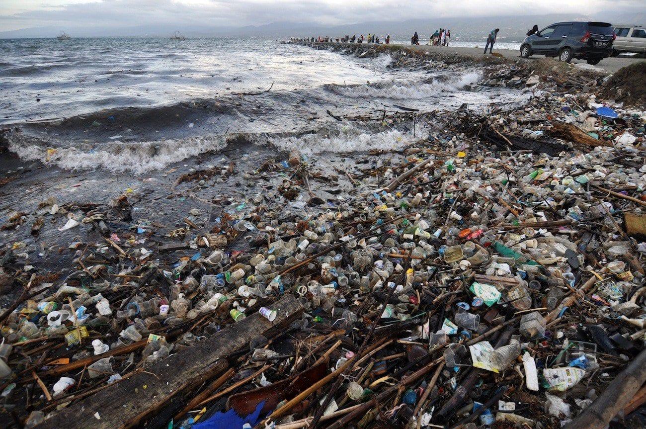Battle Marine Plastic Debris