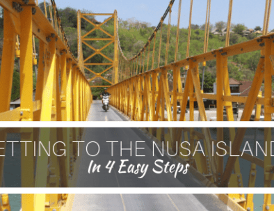 Getting to the Nusas