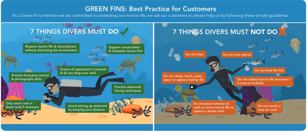 Green Fins best practices